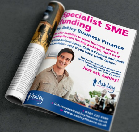 Ashley Finance :: Press Advert