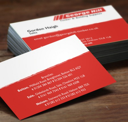 George Hill :: Business Cards